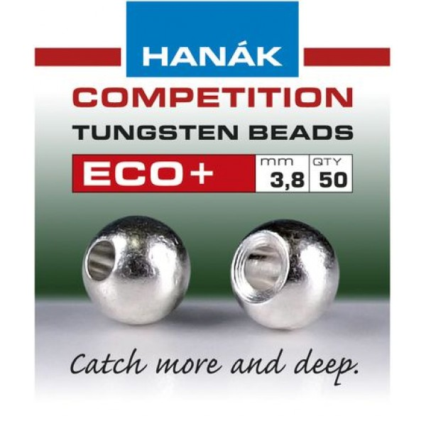 Tungsten beads Eco+ - White Pearl