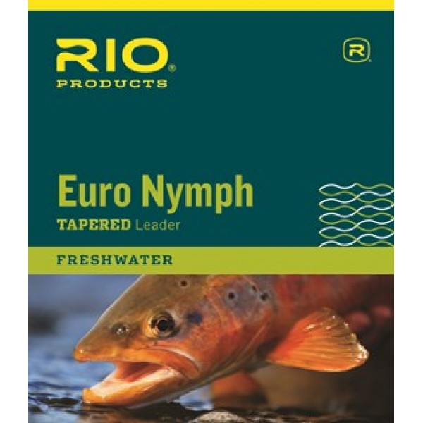 Rio Euro Nymph Leader 12ft