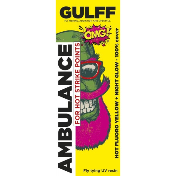 Gulff Ambulance Hot Fluoro Yellow 15ml